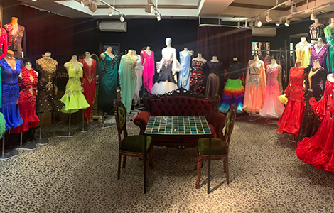 社交ダンスドレスの専門店